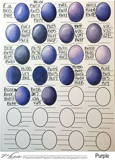 Here are some great Copic Color Combo's I would like to share with all.   Feel free to use them. I am also including the worksheet so ...