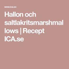 Hallon och saltlakritsmarshmallows   Recept ICA.se