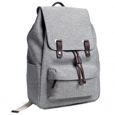 The Snap Backpack in Reverse-Denim $65
