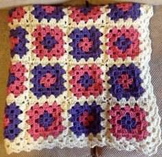 Ravelry: pekeapoomom's Granny Square Baby Blanket