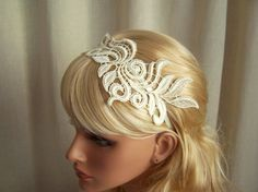 Lace Head Band! Love this!