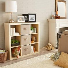 Utility Shelves Walmart New Diy Cube Storage Makeover  Closet Room Ideas  Pinterest  Cube Design Ideas