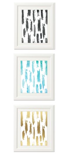 Oh So Lovely Blog: FREEBIES  //  PAINT SWOOSH PRINTABLES