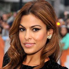 I love this color for hair! It's not chucky in any section... I'm not really into the chunky highlights.  Eva Mendes