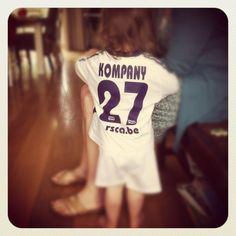 """""""@VincentKompany my youngest baby of 2 in your 2004 #rsca shirt #MeandKo"""" via @TippingPoint_be on Twitter"""