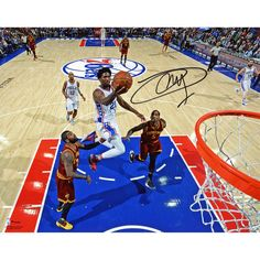 eb212e0cf Joel Embiid Philadelphia 76ers Fanatics Authentic Autographed 8