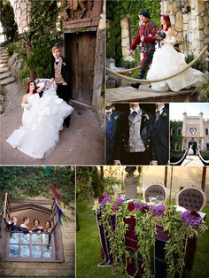 We have the perfect backdrop to make these ideas a reality!    Medieval Vintage Wedding Ideas
