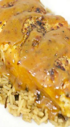 Chicken in Honey Mustard Beer Sauce