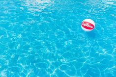 SUPREME 2015 S/S CDG BOX LOGO INFLATABLE BEACH BALL WATER SPORTS NEIL YOUNG RED #supreme