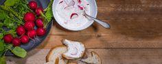 Reďkovková nátierka s jogurtom