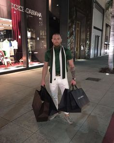 conor mcgregor fashion
