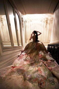 sensualfairytale: Anna Cleveland pour Madame Figaro Mars 2015