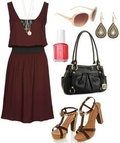 This outfit would be perfect for a summer date or going out with friends.