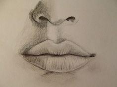Realistischen Mund zeichnen - Zeichen Tutorial                                                                                                                                                                                 Mehr