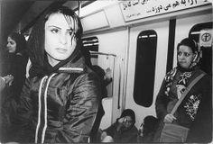 "Asoo Khanmohammadi, Foto aus der Serie ""Frei-Räume. Fotografien aus dem Iran"" im Schloss, Badisches Landesmuseum Karlsruhe. © Asoo Khanmohammadi"