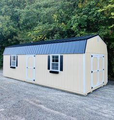 Storage Sheds For Sale, Shed Storage, Storage Spaces, Prefabricated Sheds, Gambrel Barn, Shed Builders, Custom Sheds, Small Barns, Overhead Storage