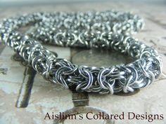 Turkish Round BDSM Gorean Slave Collar Choker by aislinnscollared