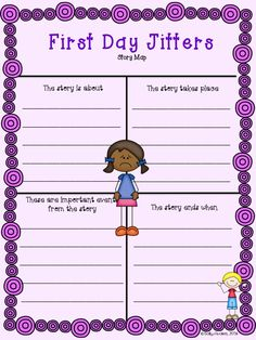 REVISED 135 page packet of First Day Jitters activities and graphic organizers to use with the book by Julie Danneberg. Aligned to common core for k-2nd, differentiated, and available in color and black white.