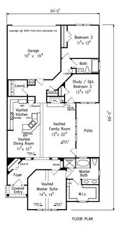 Plans on pinterest house plans floor plans and southern for Www frankbetz com