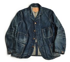 The Riveted Sack Jacket by Old Jo & Co. We take a... - The Denim Foundry