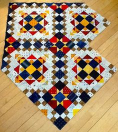 Quiltmom: Easy Street. Bonnie's new mystery quilt