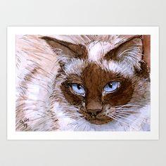 Birman+Cat+561+Art+Print+by+S-Schukina+-+$22.88