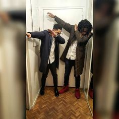 Dabb on em. With my bro @irocap #party #photographer #smile #hairstyle #style #artist #negronoble #dreadlocks #singer #me #followme #follow #follow4follow #model #enjoy #beautiful #bro #frenchboy #igerslyon #igersfrance #team974 #974 #reunionisland #french #friends #fashion #friend #club #dab #dabb by blackk0rb0