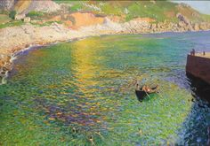 Laura Knight    Lamorna Cove