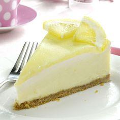 Creamy Lemon Cheesecake Recipe from Taste of Home