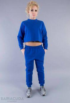 Na zdjęciu: - Kobaltowa bluza 3/4 - Kobaltowe spodnie dresowe #barracudawear http://www.barracudawear.pl/basic/kobaltowa-bluza-3-4/ http://www.barracudawear.pl/basic/kobaltowe-spodnie-dresowe/