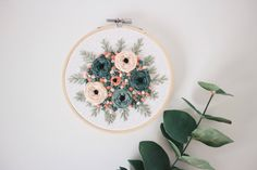 Multi-Color Rosie // Embroidery/ 5 Hoop