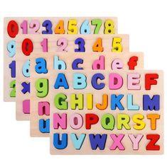 ABC Puzzle Digital Wooden Toys Early Learning Jigsaw Letter Alphabet Number Puzzle Preschool Educational Baby Toys for Children Abc Alphabet Song, Wooden Puzzles, Wooden Toys, Abc Songs, Educational Baby Toys, Puzzles For Toddlers, Number Puzzles, Wooden Alphabet, Puzzle Board