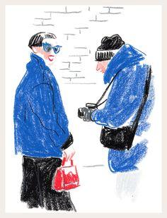 Caroline de Maigret, Rachel Zoe and the Faces of New York Fashion Week, Part One
