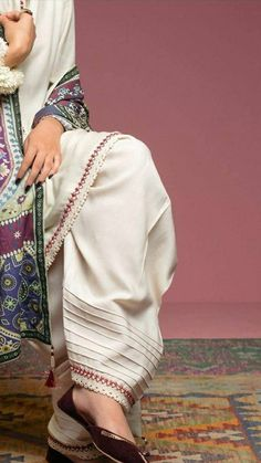 Best 12 Perfect trousers for summers. available in every color in lawn. Dress Neck Designs, Stylish Dress Designs, Designs For Dresses, Stylish Dresses For Girls, Blouse Designs, Pakistani Fashion Casual, Pakistani Dresses Casual, Pakistani Dress Design, Punjabi Fashion