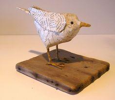 Nancy Overton Paper Mache Birds