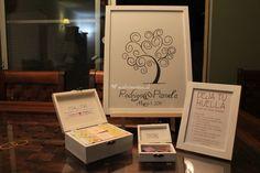 Prepara un árbol de huellas para tus invitados