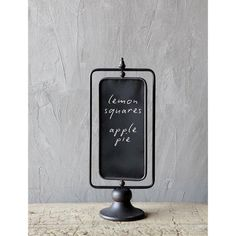 Standing Cafe Chalkboard