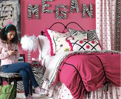 Hot Pink Teen Bedroom Decor - Inspired By... | Wayfair