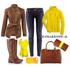 Oblečme sa do farieb jesene #kamzakrasou #sexi #love #jeans #clothes #coat #shoes #fashion #style #outfit #heels #bags #treasure #blouses #dress