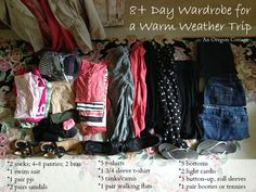 How to Pack For More Than a Week in a Carry On Suitcase | An Oregon Cottage