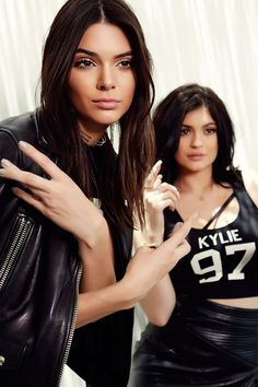 Kendall & Kylie tryna be gangster
