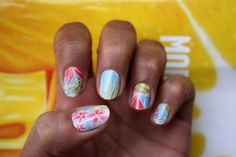 LOVE the neon floral pattern!