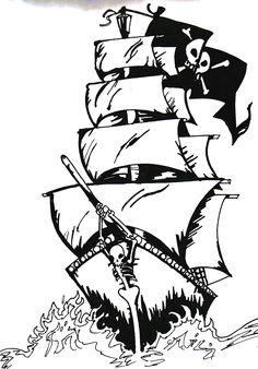 tattoo pirate ship - Pesquisa Google