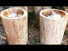 Petrified Wood Pedestal Sink | IndoGemstone
