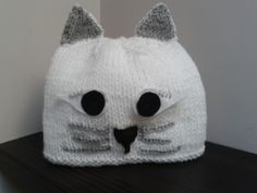 Made to order Pussy Cat hat. £10.00