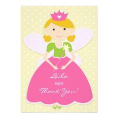 Thank You Princess Card