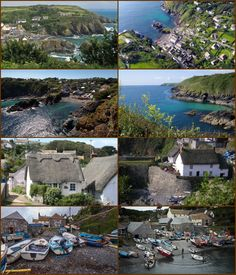 Cadgwith (Cornish: Porthkajwydh, meaning cove of the thicket) is a village and fishing port in Cornwall, It is on the Lizard Peninsula between The Lizard and Coverack.  The village has its origins in medieval times as a collection of fish cellars in a she