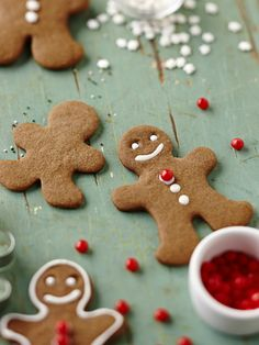 Nicole Richie's Gluten-Free Gingerbread Cookies Gluten Free Sweets, Gluten Free Cookies, Gluten Free Baking, Christmas Treats, Christmas Baking, Merry Christmas, Holiday Baking, Christmas Time, Holiday Cookie Recipes