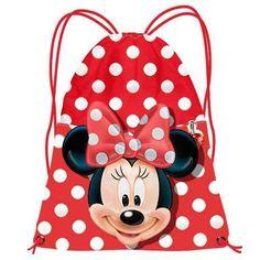 Mochila saco minnie mouse Este articulo lo encontrará en nuestra tienda on line  www.worldmagic.es  info@worldmagic.es 951381126