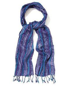 Purple/Blue Scarf